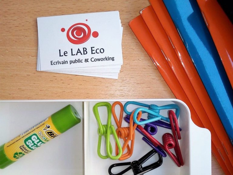 CARTE VISITE LE LAB ECO