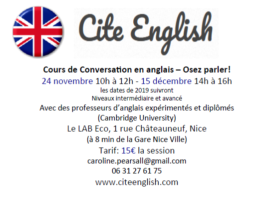 Flyer Cite English NICE